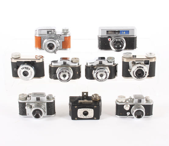'Hit' type subminiature cameras 9