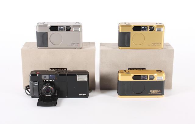 Contax T2 cameras