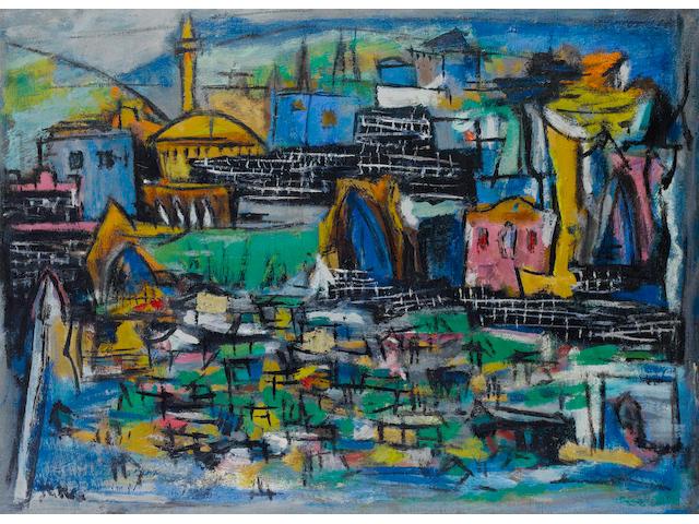 Marcel Janco (Romanian, 1895-1984) Tiberias