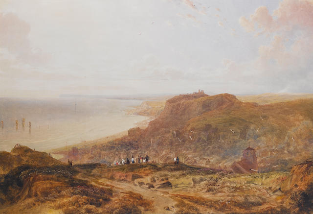 Peter de Wint, OWS (British, 1784-1849) Hastings from the East Cliff