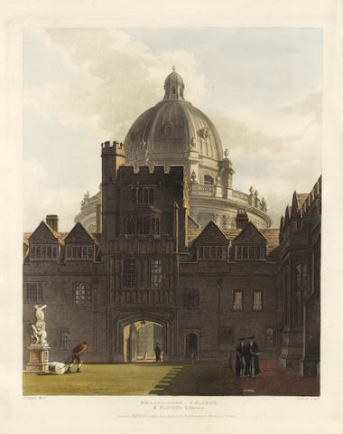 ACKERMANN (RUDOLPH) A History of the University of Oxford, its Colleges, Halls, and Public Buildings, 2 vol.