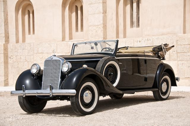 1937 Mercedes-Benz 230 Cabriolet B  Chassis no. 171327