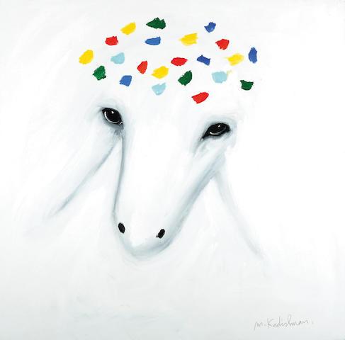 Menashe Kadishman (Israeli, born 1932) Sheep head