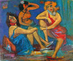 Marcel Janco (Romanian, 1895-1984) The three graces