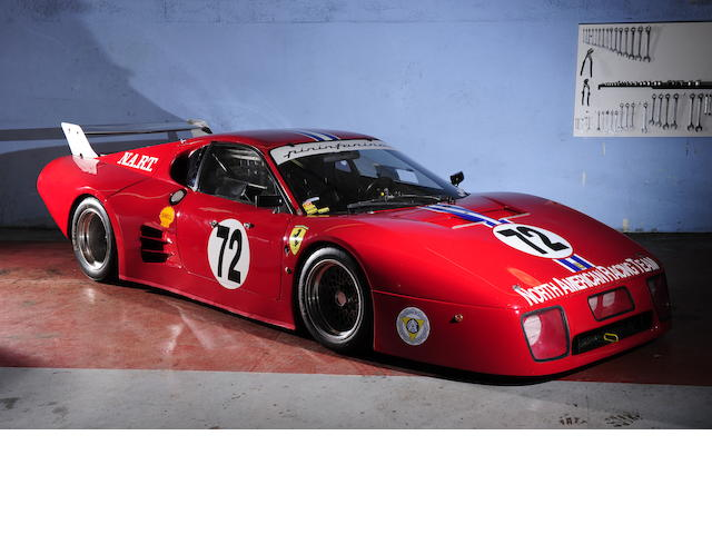 1981 Ferrari 512 BBLM Berlinetta , Chassis no. 35527 Engine no. 00682/0.23