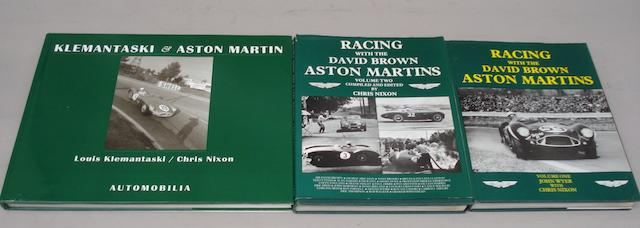 Nixon and Wyer: Racing With The David Brown Aston Martins;