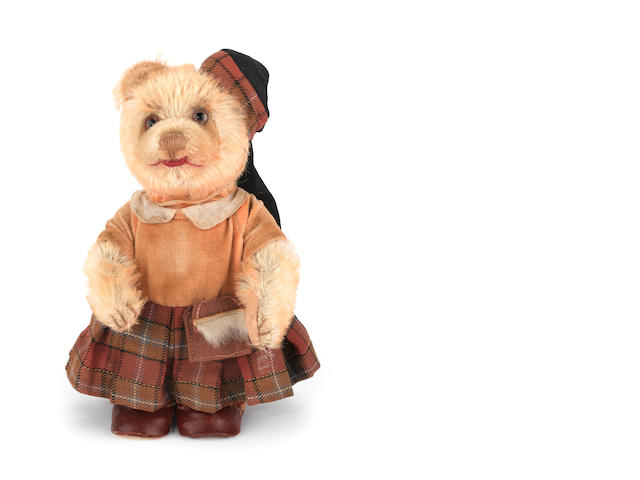 Rare Cramer for F.A.O Schwarz 'Scotch Beakin-Scotland's Best' Teddy Bear, 1938