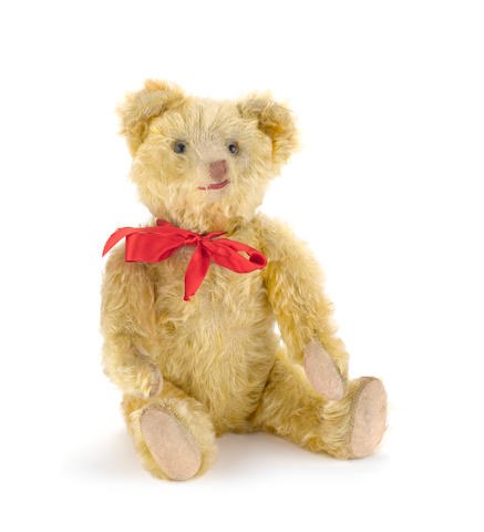 Rare Cramer Musical Teddy Bear, circa 1930