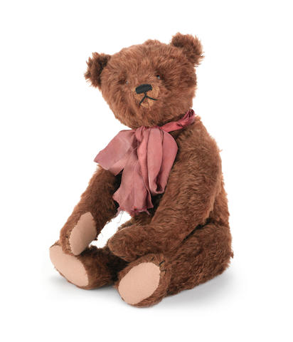 Fine brown Steiff Teddy Bear, circa 1920's