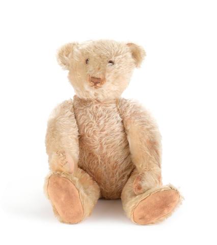 Fine white Steiff Teddy Bear, circa 1920's