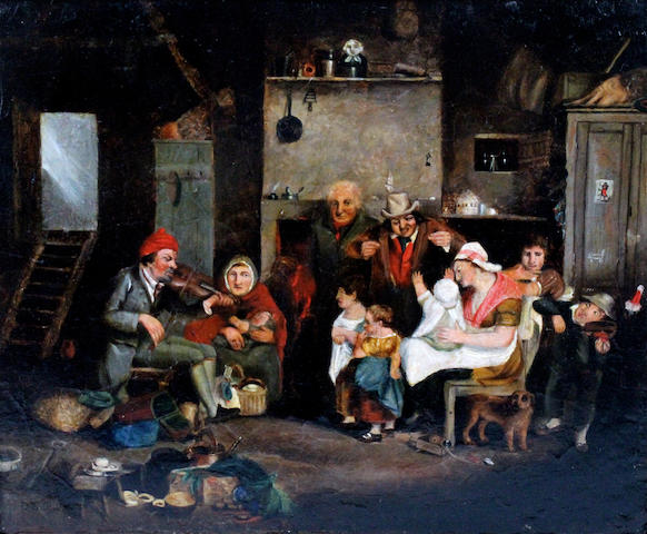 After David Wilkie 20 x 25cm