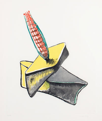 Man Ray (American, 1890-1976) Cactus H Aquatint printed in colours, 1969, on wove, signed and numbered 10/99 in pencil, published by Georges Visat, Paris, with full margins, 762 x 571mm (30 x 22 1/2in)(SH)(unframed)
