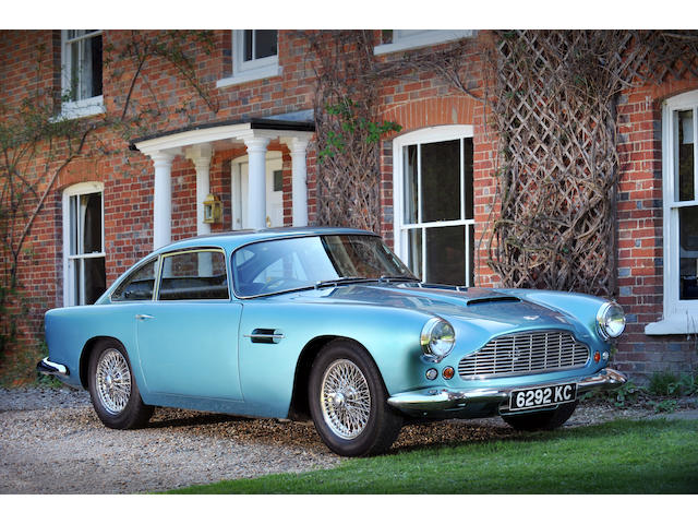 1962 Aston Martin DB4 Series IV Vantage 4.2-Litre Sports Saloon  Chassis no. DB4/940/R Engine no. 370/985/SS