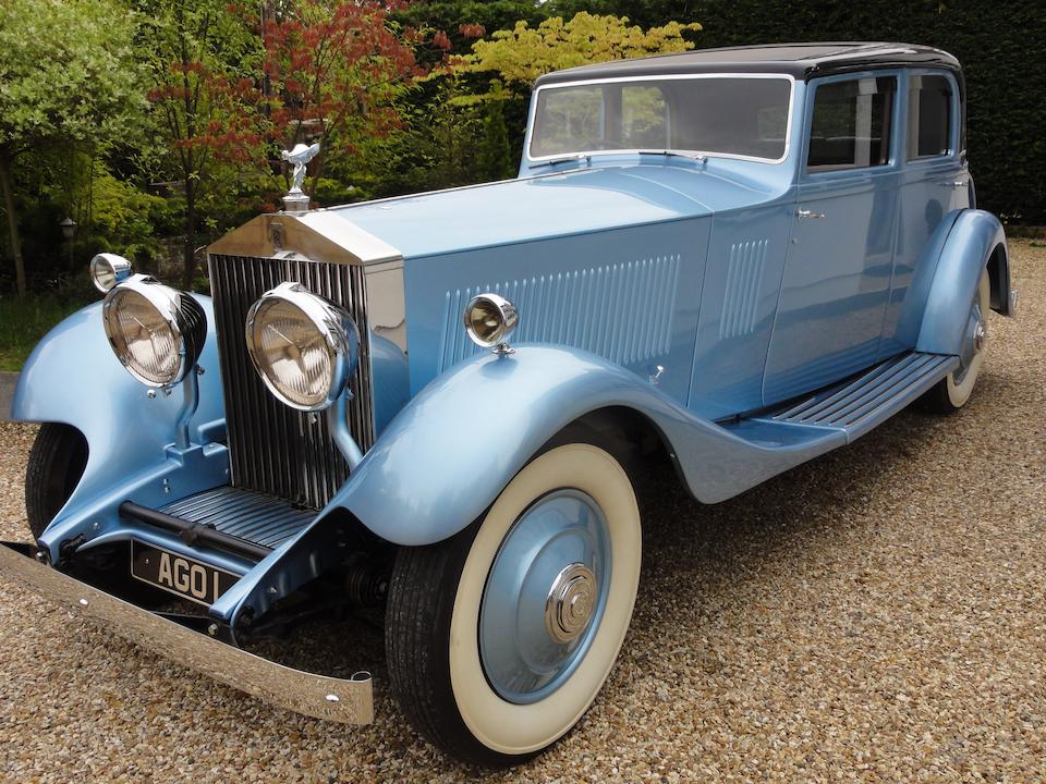 Originally owned by Captain Sir Malcolm Campbell,1933 Rolls-Royce 40/50hp Phantom II Continental Touring Saloon  Chassis no. 140MY Engine no. GF45