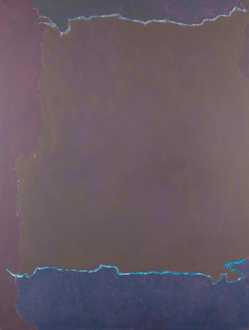 Theodoros Stamos (American, 1922-1997) Infinity Field Lefkada Series 183 x 137.5 cm.