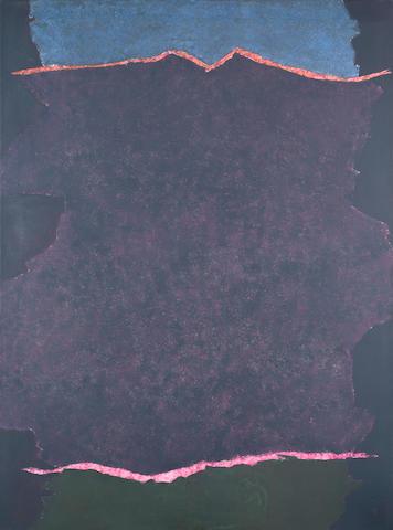 Theodoros Stamos (American, 1922-1997) Infinity Field Lefkada Series 168 x 122 cm.