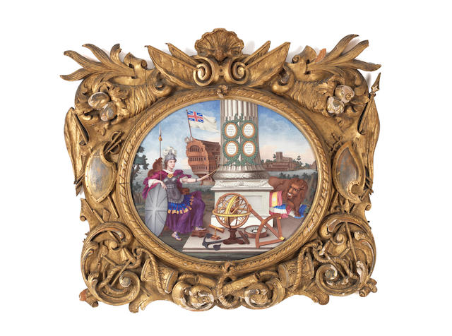 The British Worthies: an important London enamel plaque by William Hopkins
