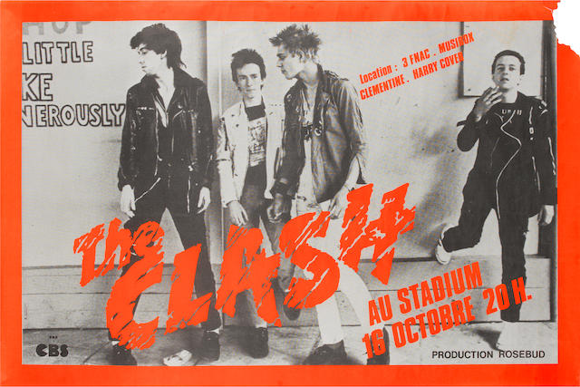 The Clash: Tour poster