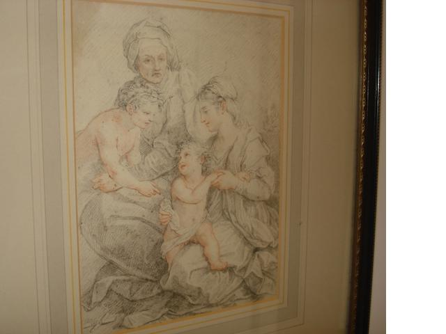 Cimignani, after Andrea del Sarto The Holy Family 20 x 15cm