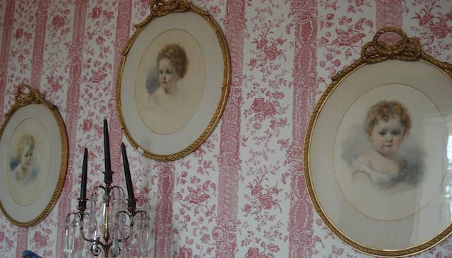 Three late 19th century portraits
