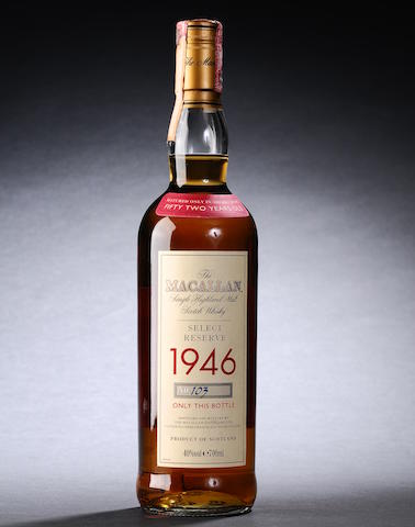 Macallan Select Reserve- 1946- 52 year old