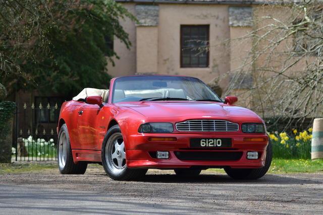 1994 Aston Martin 6.3-Litre V8 Vantage Volante   Chassis no. 60148 Engine no. 89/60148/A