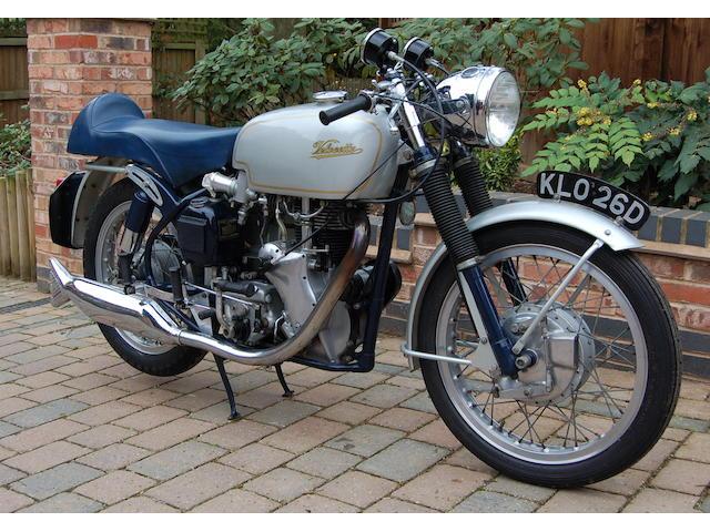 1966 Velocette 499cc Thruxton Frame no. RS 18928 Engine no. VMT 389