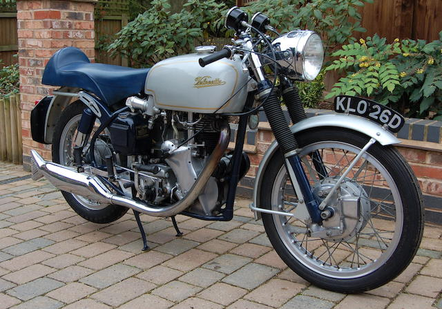 1966 Velocette 499cc Thruxton Frame no. RS 18928 Engine no. VMT 389