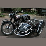 1958 BSA A10 Golden Flash,