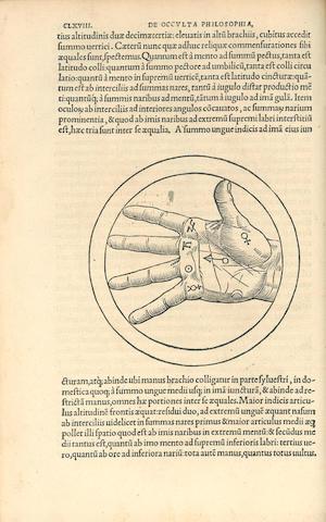 AGRIPPA (HENRICUS CORNELIUS) De occulta philosophia libri tres