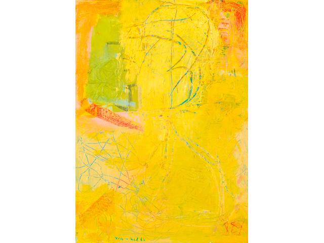 Lea Nikel (Israeli, 1918-2005) Composition