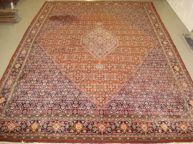 A Bidjar carpet, Persian Kurdistan, 357cm x 228cm