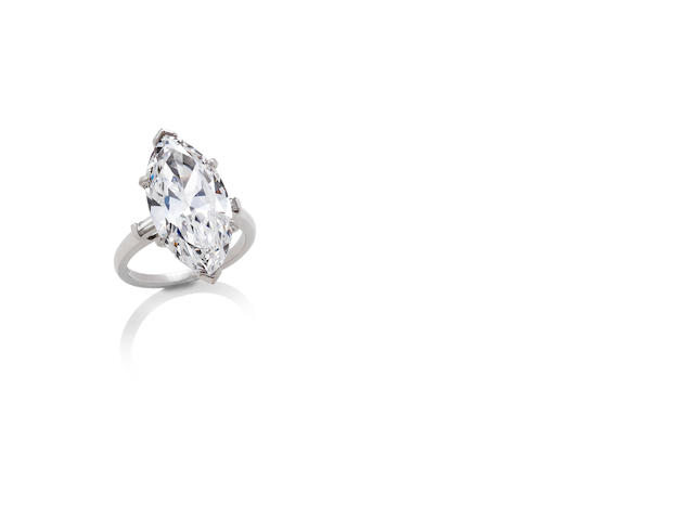 A diamond single-stone ring, by Bulgari
