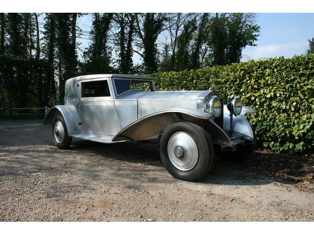 1930 Rolls-Royce Phantom II 2-Door 4-Seater Fixed Head Coupe  Chassis no. 111GN Engine no. JY25