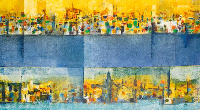 Sadanand K. Bakre (India, 1920-2007) Thames,