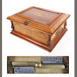 A Symphonium 13.5/8-inch disc musical box,