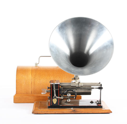 An Excelsior phonograph,