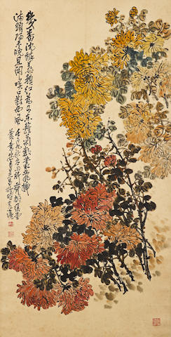 Wu Changshuo (1844-1927) Chrysanthemums