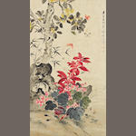 Jiang Hanting (1903-1963) Insects and Flowers
