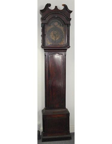 A George III mahogany longcase clock by Philip Lloyd of Bristol,