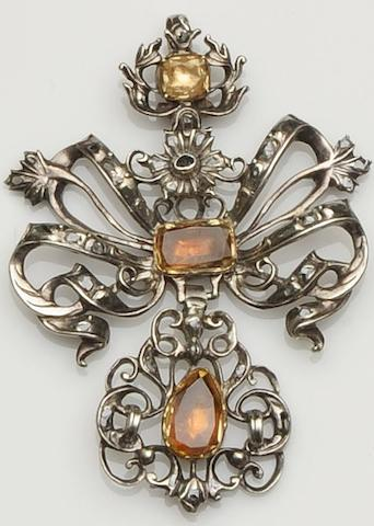A late 18th century pendant (3)