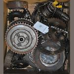 A quantity of miscellaneous clutch components,