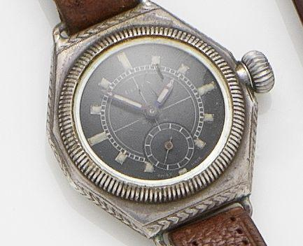 Rolex. A silver manual wind wristwatch Ref. 4430, Case No. 260554, Circa 1925