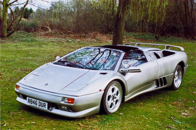 1997 Lamborghini Diablo VT Roadster  Chassis no. 12864 Engine no. 12864