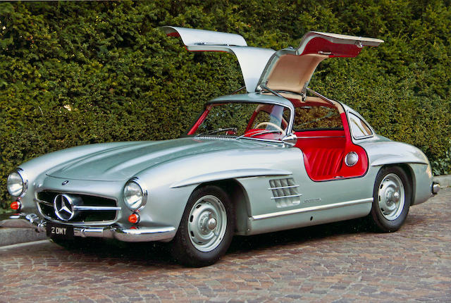 1955 Mercedes-Benz 300SL 'Gullwing' Coupe  Chassis no. 1980405500152 Engine no. 1989805500170