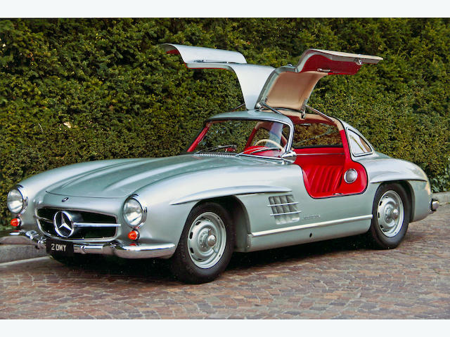1955 Mercedes-Benz 300SL 'Gullwing' Coupé  Chassis no. 1980405500152 Engine no. 1989805500170