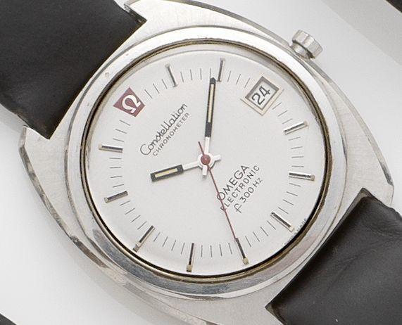 Omega. A stainless steel electronic/quartz wristwatchElectronic constellation, Circa 1970's