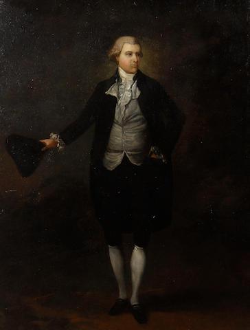 Follower of George Romney (Beckside 1734-1802 Kendal) Portrait of a gentleman