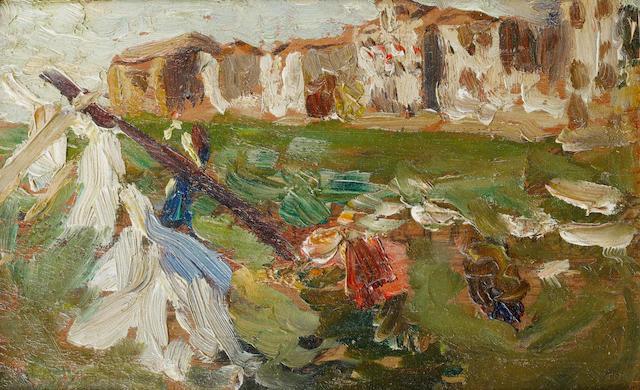 Beppe Ciardi (Italian, 1875-1932) Santa Marta, Venezia