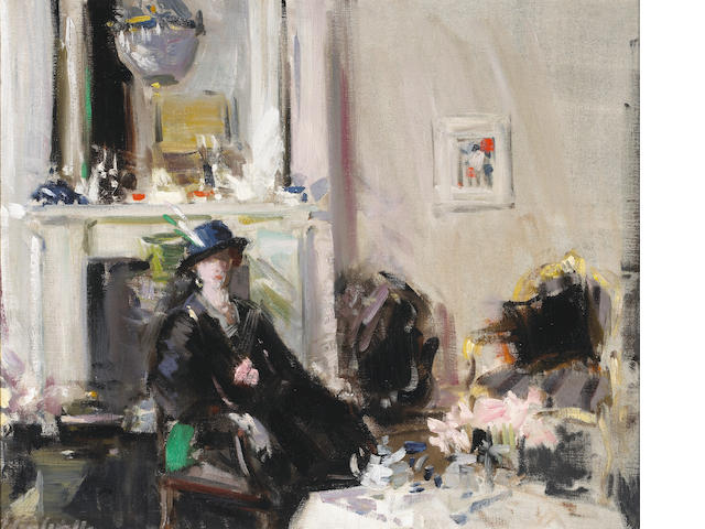 Francis Campbell Boileau Cadell The White Room